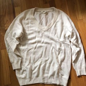 TNA Golden by Aritzia cashmere wool sweater